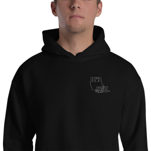 Ghost Mode Embroidered Hoodie