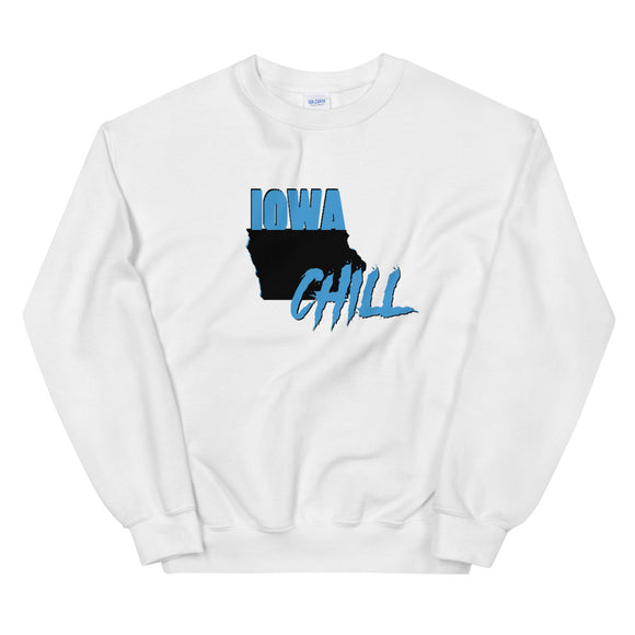Iowa Chill Large Logo Crew, , sweatshirts - Iowa Chill