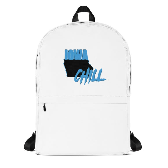 Iowa Chill Backpack, , accessory, Iowa Chill, iowa chill logo - Iowa Chill