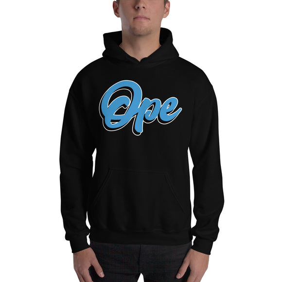 Ope Script Hooded Sweatshirt, , ope, Ope Hoodie, sweatshirt - Iowa Chill