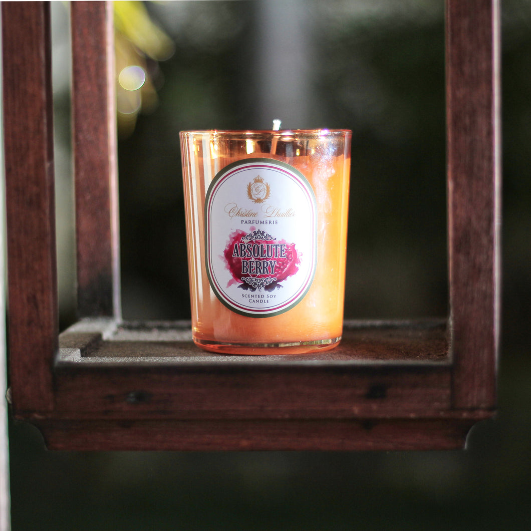 Scented Soy Candle Absolute Berry