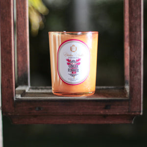 Scented Soy Candle Ginger Flower