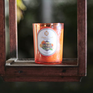 Scented Soy Candle Lime Basil & Mandarin