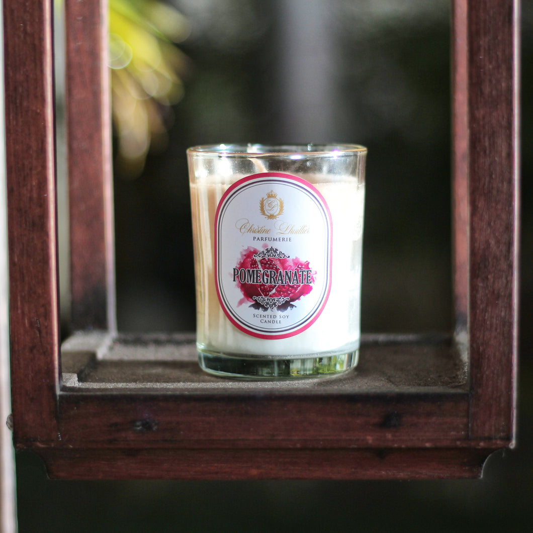 Scented Soy Candle Pomegranate