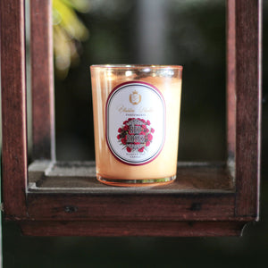 Scented Soy Candle Red Roses