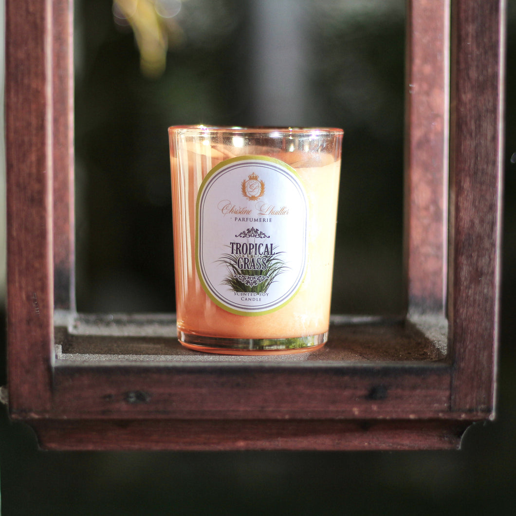 Scented Soy Candle Tropical Grass