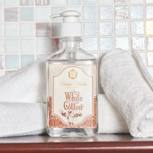 Hand Wash White Cotton