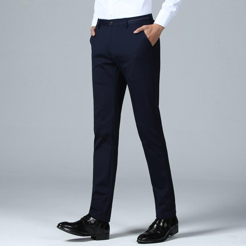 Business Casual Slim Fit Pants - 076