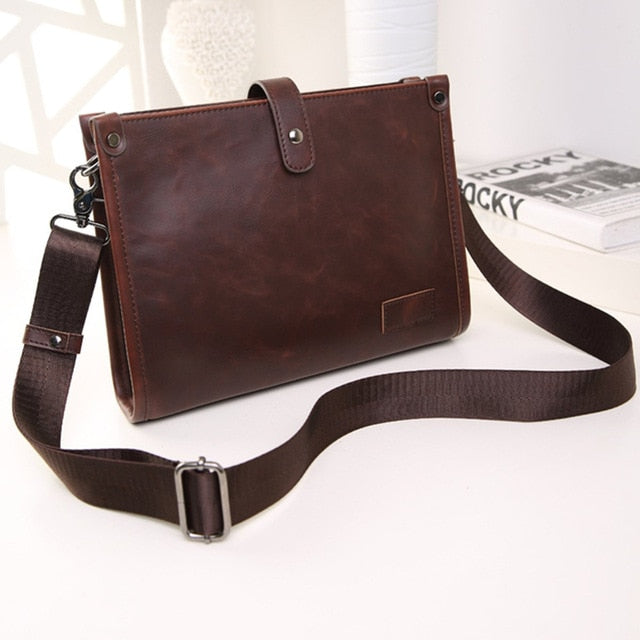 Men's Leather Satchel / Messenger Bag