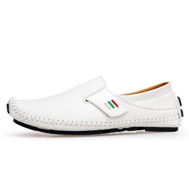 Prowow Casual Split Leather Moccasins