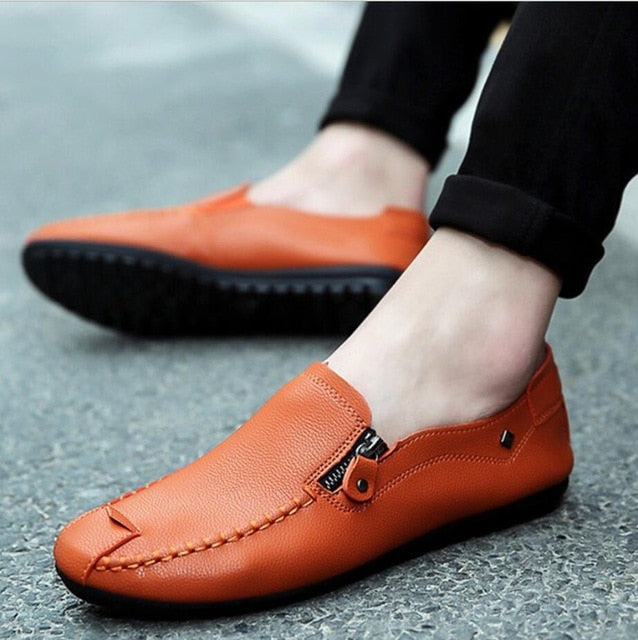 Men's Moccasins Breathable Flat's