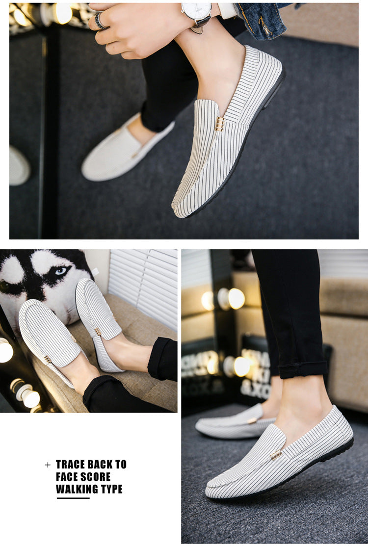 Lightweight Flat Casual Slip on Driving Shoes