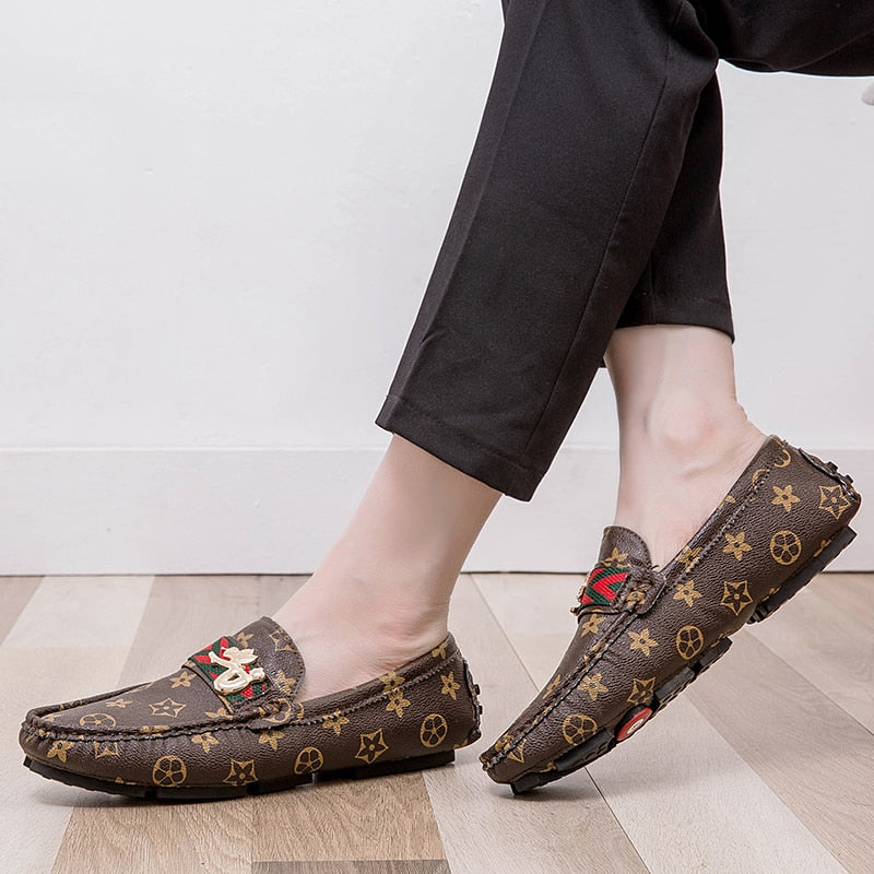ALCUBIEREE Slip-on Flat Driving Moccasins