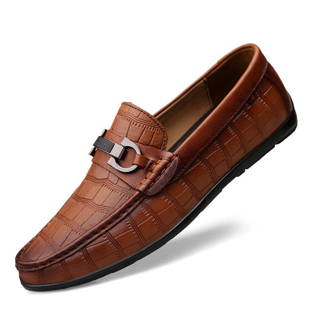 Genuine Leather Breathable Loafers