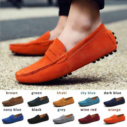Fashion Leather Chaussure Homme Moccasins