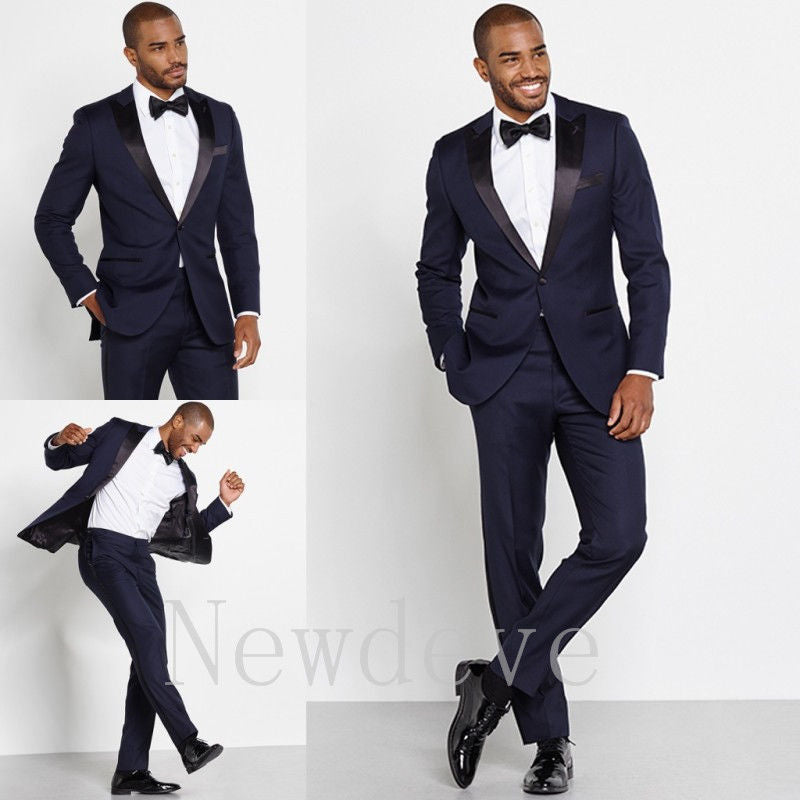 3 Piece Formal Groomsmen Tux