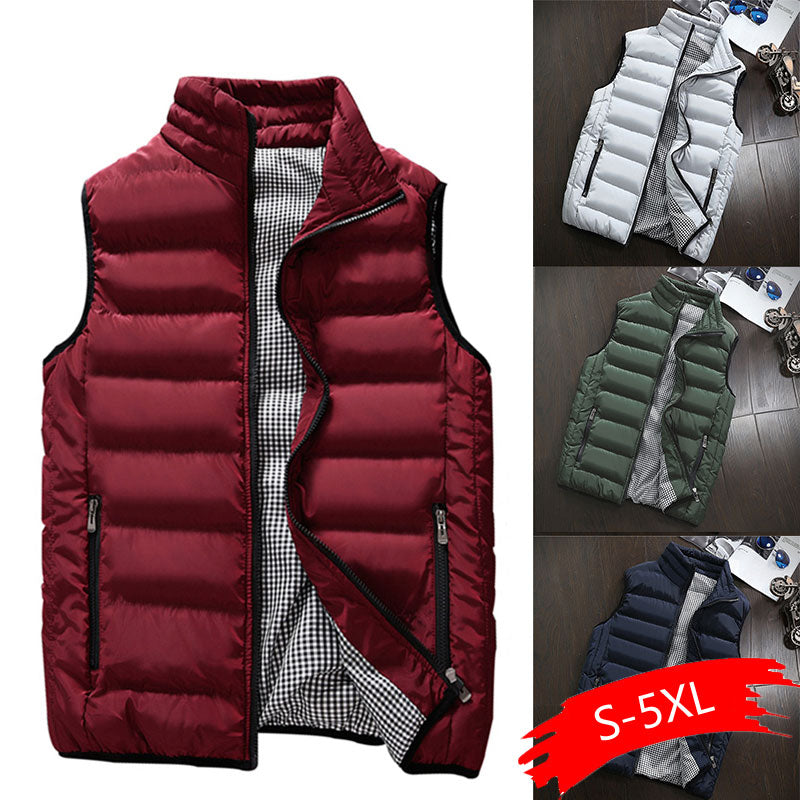 Daschop Online Slim Fit Casual Autumn Vest