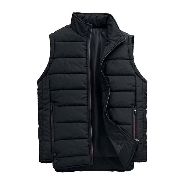 Daschop Online Slim Fit Autumn Sleeveless Vest/ HoodDetachable