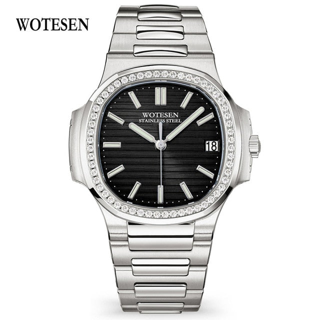 WOTESEN Luxury Diamond Watch