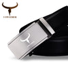 Quality Genuine Leather Alloy **Automatic Buckle**