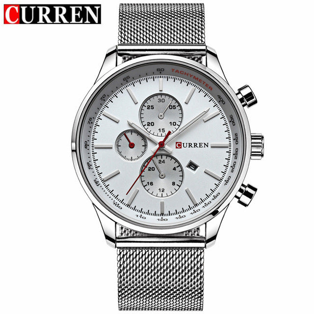 CURREN - Men's Casual Business Steel Mesh