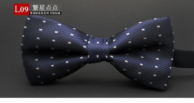 NEW Dot Polyester Bow Tie