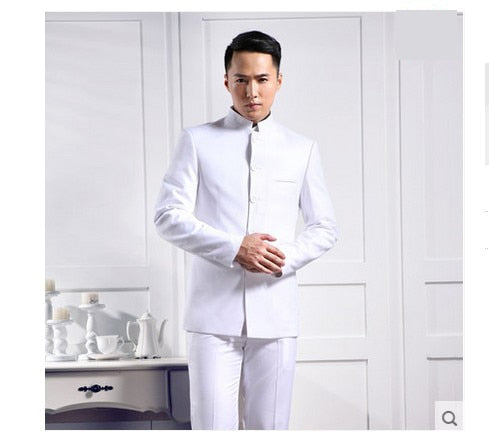 Daschop Online Chinese Style Slim Fit Suit