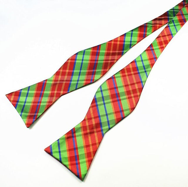 Daschop - Adjustable Bowties - 100% Silk Multi-Color