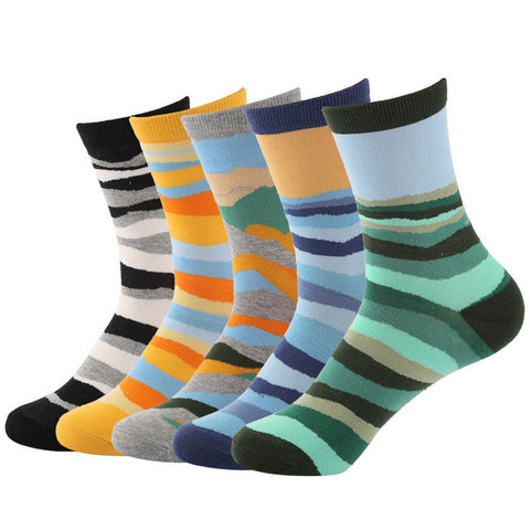 Mosaic Five Finger Socks