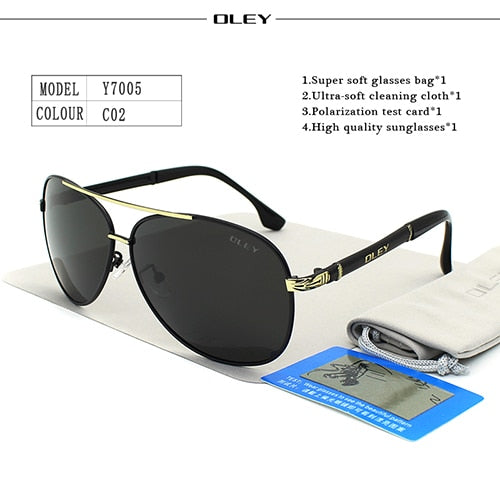 OLEY Classic Driving Glasses