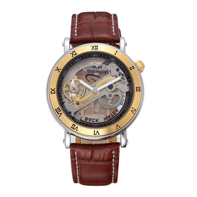 Top Luxury Brand  Skeleton Stainless Steel