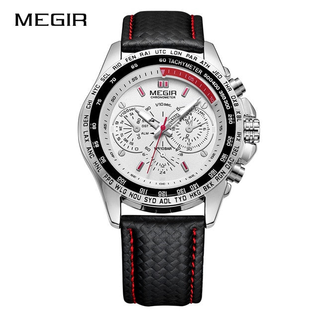 MEGIR - Military Waterproof Leather - Quartz
