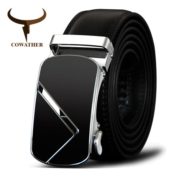 Genuine Leather Men's Best **Automatic Buckle**