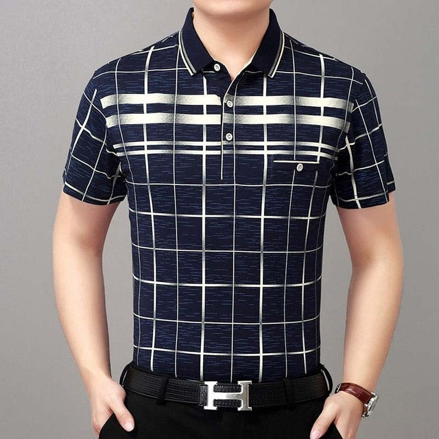 Summer Polo Slim Fit Down Collar # 1780