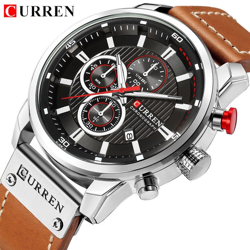 Men's Casual Chronograph Fashion Wrist Watch