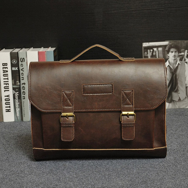 Famous Brand Men's Messenger Travel Bag