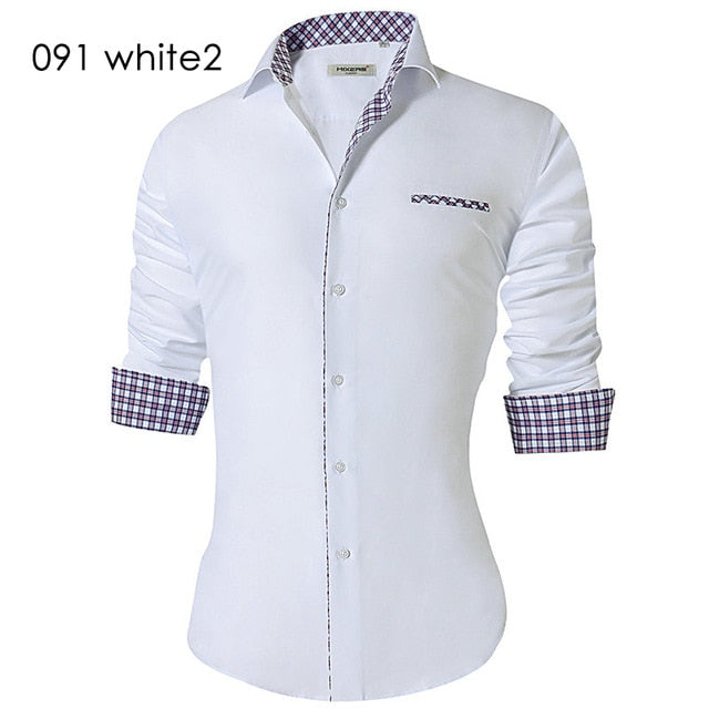 Men's Slim Fit Business Casual Top - T79
