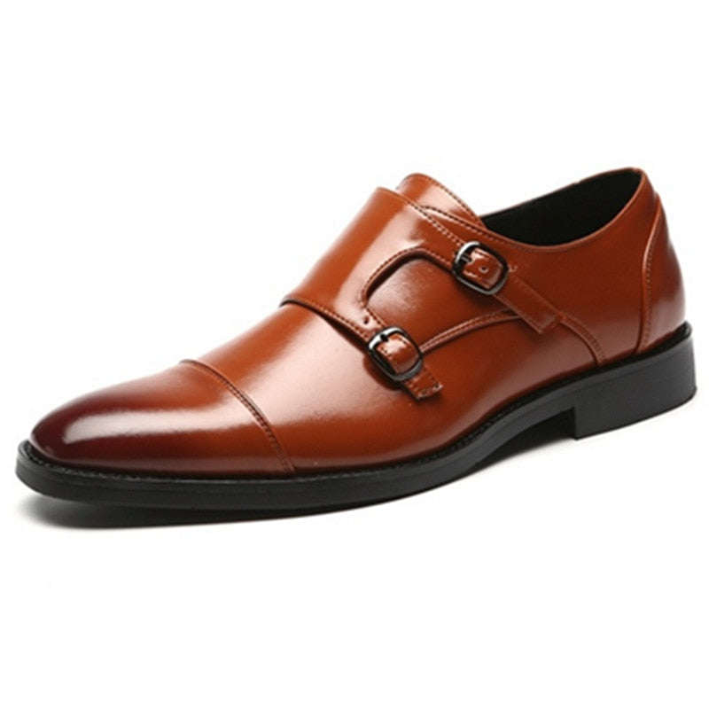 Monk-strap Double Buckle Classic Flat