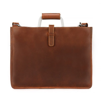 Vintage Genuine Leather Messenger Bag