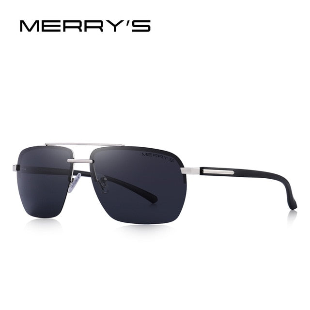 Men Classic Sunglasses Rectangle Luxury Eyewear - UV400