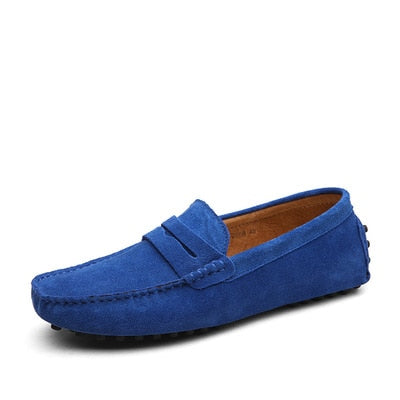Men's Flat Loafer Moccasin Slip On / Driving Shoes