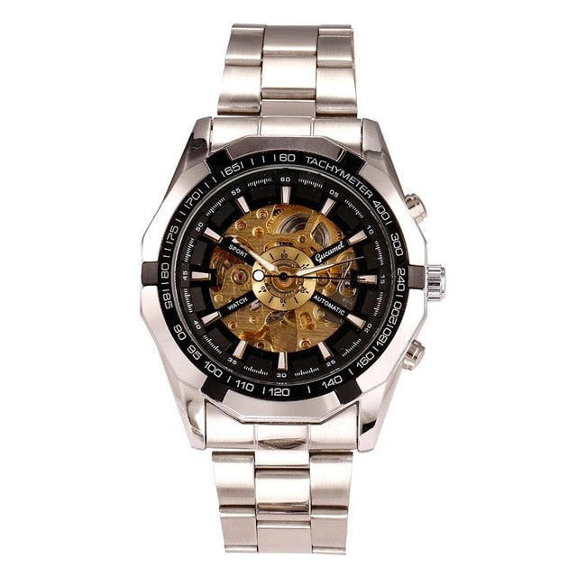 Men's Luxury Open Skeleton In Alloy