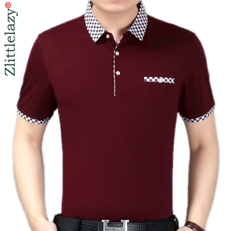 Daschop 100% Cotton Fit Polo - 076