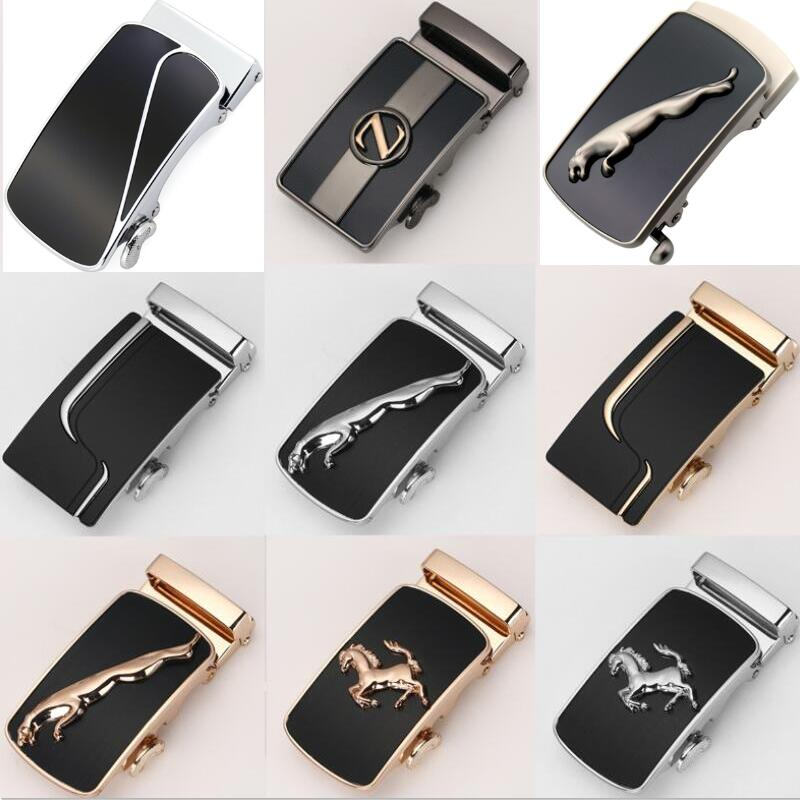 Men's Business Accessories -  Automatic Buckle Width 3.5CM