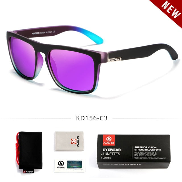 Fashion KDEAM Polarized Sunglasses