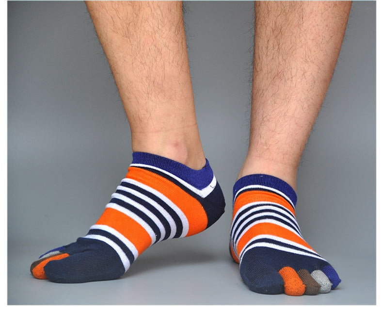 1 Pair Five Finger Toe Socks