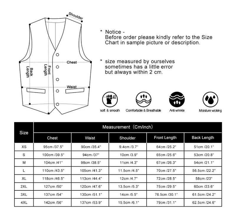 Formal Slim Fit Casual Tuxedo Waistcoat