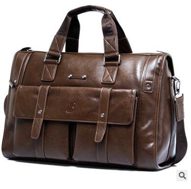 Genuine Leather Messenger Bag  # 071