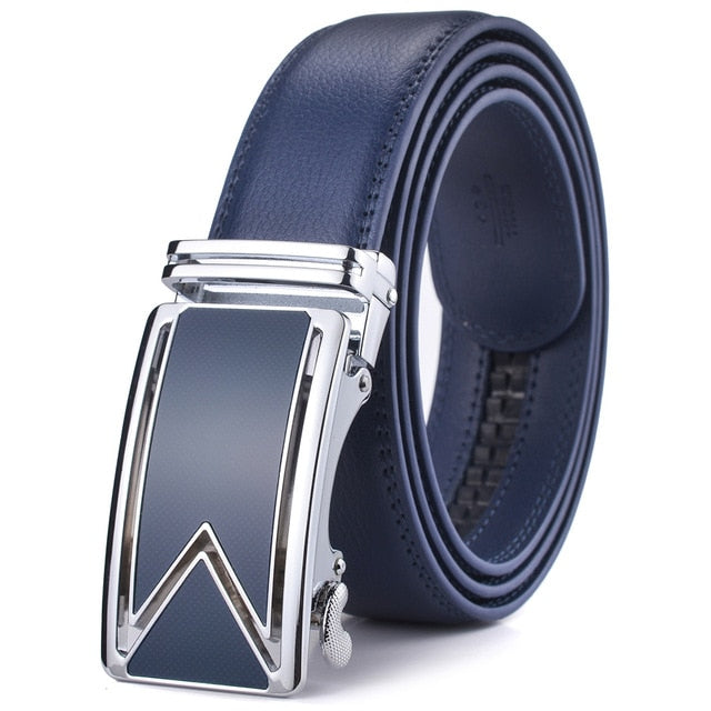 Men's Genuine Leather Ratchet Belt # 074