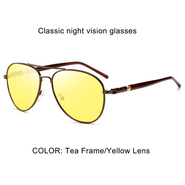 Classic Pilot Photochromic Sunglasses
